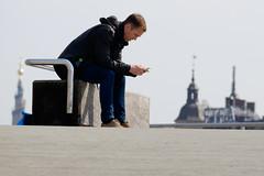 Facebooking (Hkan Dahlstrm) Tags: people man mobile copenhagen denmark photography phone cellular f90 dk cropped danmark kbenhavn facebook iphone 2016 kpenhamn kbenhavnv xe2 1420sek xc50230mmf4567ois 4101052016105522