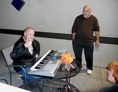 Patio Musician - Apr 30, 2016 (jiff89) Tags: music bar live patio april keyboards lynnwood cliffhanger 2016