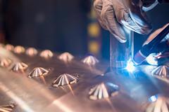 TiG welding (henritht) Tags: industry 35mm nikon bokeh steel welding indoor stainless welder tig d610 samyang
