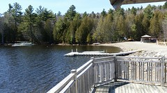 Sur La Terrasse Au Bord Du Lac Stukely. 2016-04-17 13:42.16 (Sandbanks Pro) Tags: lake holiday canada nature nationalpark quebec terrasse lac paysage vacance touristique vgtation parcnationaldumontorford parcnational jouvence lacstukely centredevillgiature