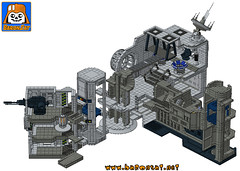 DEATH-STAR-WORLD-Instructions (baronsat) Tags: death star escape lego room collection micro kenner throne emperor compactor