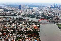 (joshuabirleson) Tags: city urban water buildings river cityscape vietnam