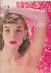 DuBarry 1956 (moogirl2) Tags: retro vogue 50s 1956 vintageads dubarry vintagefashions vintagevogue vintagecosmetics 50sfashions