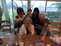 "Aunt Pam, Grandma Shirley, Grandpa Miller, Emily, Paul, and Inde Watch YouTube at Easter • <a style=""font-size:0.8em;"" href=""http://www.flickr.com/photos/109120354@N07/26598805786/"" target=""_blank"">View on Flickr</a>"