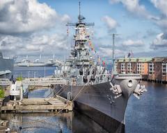 USS Wisconsin (BB-64) (Mobilus In Mobili) Tags: virginia battleship usswisconsin natoparade