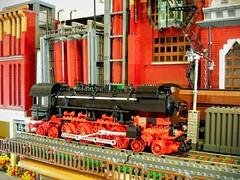 Mill (pangelovmarinov) Tags: lego fabrica fabric mill industry