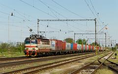Stanicovka zo Sldkoviova (Nikis182) Tags: station electric train railway slovensko slovakia locomotive vlak koda stanica lamintka dc nikis182 sldkoviovo 230082
