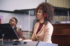 Natalie Ragins - ABC Musician (Atlanta Berean Church - photos.atlantaberean.com) Tags: musicians worship divine natalieragins