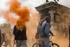 HDV 28avr16 (charlottefavre) Tags: orange rouen manifestation tudiant loitravail hdvrouen