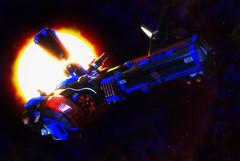 MOC Space Police 1 - Starfighter RMX Challenge (Round 3) (SpirituInsanum) Tags: ship lego space moc spacepolice starfighterrmxchallenge