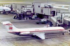 EC-BYD Douglas DC-9-32 cn 47522 ln 606 Iberia Heathrow 07Jul78 (kerrydavidtaylor) Tags: dc9 mcdonnelldouglas dc930