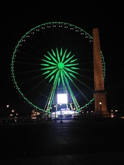 Place de la Concorde, Paris, France (Marylou1504) Tags: ville concorde roue vert paris nuit obelisque france