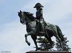 Espartero (kirru11) Tags: espaa canon caballo powershot logroo bronce larioja generalespartero kirru11 anaechebarria