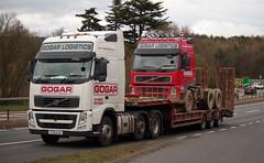 Gogar Logistics Volvo FH YT61AJX (andyflyer) Tags: truck transport lorry a90 haulage hgv roadtransport gogar volvofh gogarlogistics yt61ajx