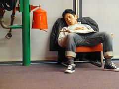 Mon Paris. (caramoul25) Tags: paris fatigue centrepompidou fauteuil visiteur caramoul25