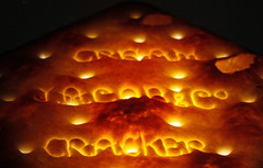Cream Cracker (1selecta) Tags: light red orange brown white black hot corner dark square word words warm glow hole wide surface holes crack biscuit edge round whit glowing cracker jacobs thin rise wafer cracked radiating indentation triangular undulating brittle redish indent wording undulate creamcracker indented wrighting uveven