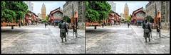 Kunming, Yunnan (China) /7 (Bruno Zaffoni) Tags: china stereophotography 3d crosseyed kunming yunnan cina stereoscopy crossview