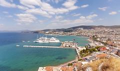 Kusadasi, Turkey (Nejdet Duzen) Tags: city travel cruise sea vacation holiday turkey town trkiye deniz agean kusadasi ege tatil aydin turkei seyahat