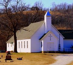 Baptist Ford Community Church - South of Greenland, Arkansas (danjdavis) Tags: church arkansas countrychurch washingtoncounty ruralchurch baptistfordcommunitychurch