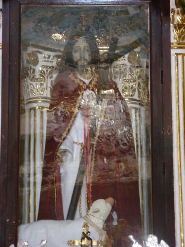 Señor del Dulce Nombre, Altar Mayor, Templo de Sta. María Magdalena, La Magdalena Tlatlauquitepec, Pue.