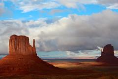 Monument Valley. (DINAandJARED) Tags: arizona southwest landscape desert valley redrocks navajo monumentvalley mittens americansouthwest themittens tribalpark usasouthwest