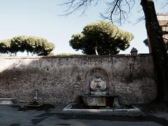 Mascherone (stringeilcuore) Tags: rome roma fountain fuente fontana giardino degli aranci mascherone