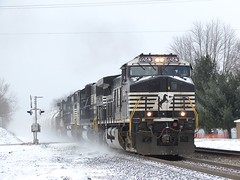 Norfolk Southern Chicago Line / MP 462 Eastbound (codeeightythree) Tags: ns laporteindiana norfolksouthernrailroad mp462 norfolksouthernchicagoline