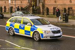 PSNI - Skoda Superb Estate - Response Car (Agent Tyler Durden) Tags: police policecar northernireland skoda 999 psni policeforce skodasuperb policeservicenorthernireland