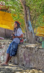 Cool (Belinda Fewings (2.5 million views. Thank You)) Tags: africa street city man colour male tourism beautiful beauty wall dreadlocks out outside outdoors seaside cool nice sitting arty artistic bokeh creative colourful lovely leaning rasta caboverde tourguide rastafarian boavista the capeverde beautify panasoniclumixdmc pbwa creativeartphotograhy belindafewings