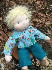 Hugo, my well seasoned traveller (Noble Doll Studio) Tags: waldorfdoll waldorfbabydoll customwaldorfbabydoll