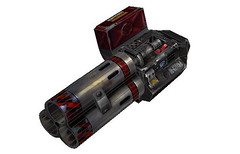 Unreal Tournament 2004 - Rocket Launcher Free Papercraft Download (PapercraftSquare) Tags: launcher unrealtournament2004 rocketlauncher