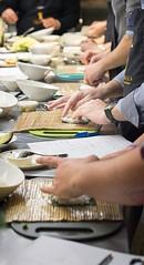 manos al arroz! (carinenaalba) Tags: sushi zaragoza cocina gastronomia abel nikkei japon curso japons makis debutantes aprobado uramakis futomakis uasabi lazarosa