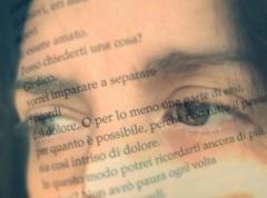 Caduti fuori dal tempo (Ro_.) Tags: eyes occhi ritratto pagina sovrapposizione davidgrossman cadutofuoridaltempo