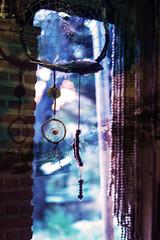 CATCHING DREAMS (ColonelMustard&MadameDijon) Tags: travel colour spain doubleexposure dreams nomad van dreamcatcher colonelmustard madamedijon