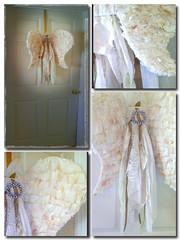 Angel Wings (Jazzie Menagerie) Tags: handmade rhinestones angelwings vintagebuttons tabstyle jazziemenagerie