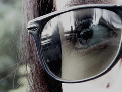 IMG_1806 (Noerlia A. Cortez) Tags: brown black me nature sunglasses hair outside eyes photographer