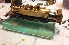 BRASS 2-6-6-2T RESTORATION/ REPAIR - PROGRESS PHOTOS 021016 (bslook1213) Tags: railroad toby flickr northwest crash models hobby line short restoration articulated repairs hoscale derailment modelrailroading steamlocomotives 2662 brasslocomotives nwsl 2662t hon3brassmodelstrains railroadingsteam modeltrainstetsudo googlebingyahooimagespicturesbrassmodeltrainssteammodelrailroadingoscale flickriverflickrhiveflickrmind