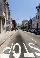 Stop! (San Francisco 2009) (Chris Bertram) Tags: sanfrancisco california street usa nikon unitedstates stop sight d90 2009triptocalifornia