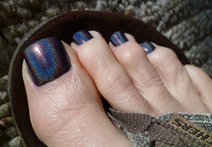KB Shimmer - Coal In One! (toepaintguy) Tags: she boy man sexy male men guy feet beautiful kids fun foot gold grey one amazing cool nice rainbow perfect paint pretty masculine sandals painted gorgeous nail great gray style polish mani glossy attractive finish stunning manicure pedicure coal he kb sandal polished shimmer stylish paints holographic lacquer in holo pedi lacquered polishes