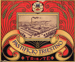 Trieste Pastificio Triestino (Urbanwear) Tags: vintage typography photography foto ephemera printing font lettering fonts trieste tipografia typeface trademarks marchi letterheads vintagetypography printingindustry commercialdocuments
