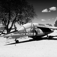 Plane and #tree... And noonlight #shadow... (DavidK Parker) Tags: shadow arizona tree plane sand desert tucson pimaairandspacemuseum pimaair uploaded:by=flickstagram instagram:photo=994959542625841131206326610