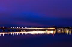 Rush Hour (garnier1981) Tags: longexposure bridge dundee tay lighttrails afterdark