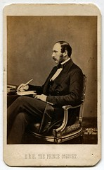 HRH Prince Albert (1860) Carte de Visite photograph (The Wright Archive) Tags: england english history vintage de photographer albert victorian royal prince victoria queen photograph cdv british hrh visite carte 1860 consort mayall