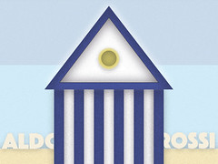 Thinking at Aldo Rossi (Marco Morici) Tags: sea summer italy sun architecture illustration design seaside furniture