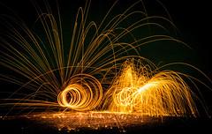 DSC_4450 (caki801) Tags: light wool night steel round spark srbija curcle krusevac