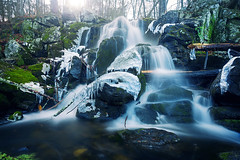 Prydden Falls II (Jack Wassell) Tags: longexposure winter light shadow snow cold fall ice water canon landscape waterfall moss soft falls 6d ctphotographer connecticutphotographer jackwassell jackwassellphotography