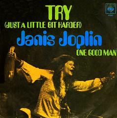 4 - Joplin, Janis - Try (Just A Little Bit Harder)  - D -1970 (Affendaddy) Tags: germany 1970 4841 cbs janisjoplin onegoodman vinylsingles collectionklaushiltscher tryjustalittlebitharder usrockblues