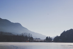Baselga's lake. (Jess Vampice - Hikari Wa Egao) Tags: travel winter mountain lake snow cold love lago holidays walk newyear neve inverno montagna freddo amore viaggio vacanze passeggiata annonuovo pinè baselga