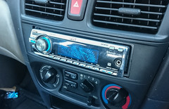 The JVC installed in the Pulsar (pitdroidtech) Tags: 2003 st nissan with head cd stock player bluetooth pulsar n16 unit jvc replacing kdbt22