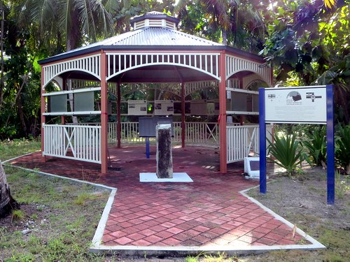 Gazebo on Direction Island